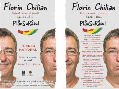 Florin Chilian – 8 octombrie- 14 decembrie 2019 Turneu de lansare a noului album PlanSuRasul