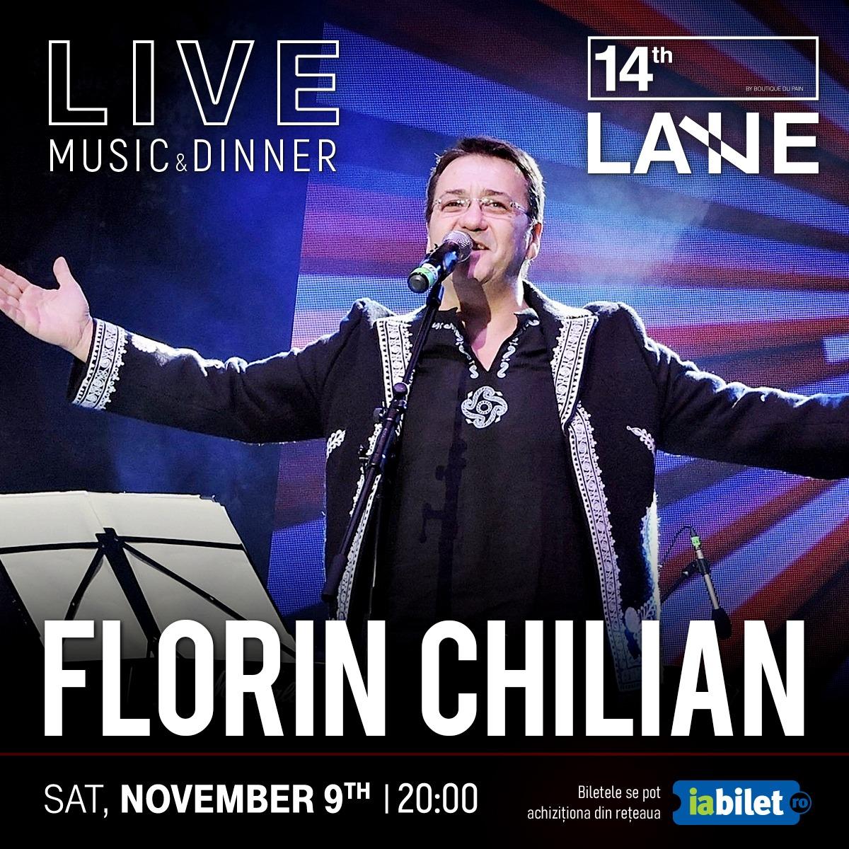 ❤️ Florin Chilian vine la 14thLane! ❤️