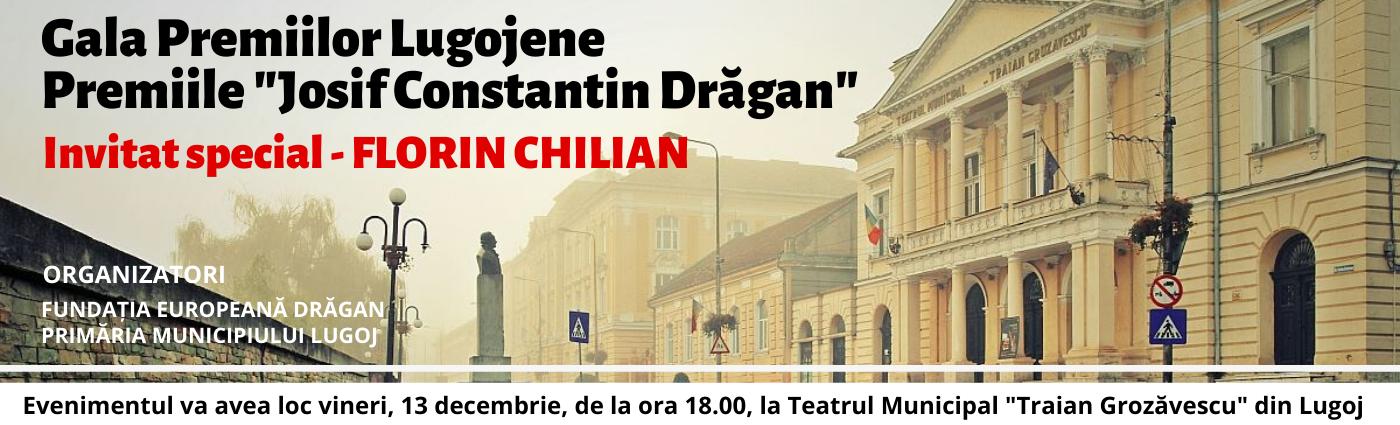 """Gala Premiilor Lugojene – Premiile """"Josif Constantin Drăgan"""", la ediția a IX-a"""