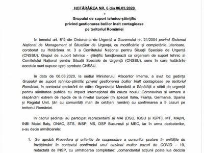 ROMÂNIA MINISTERUL AFACERILOR INTERNE DEPARTAMENTUL PENTRU SITUAȚII DE URGENȚĂ Nesecret